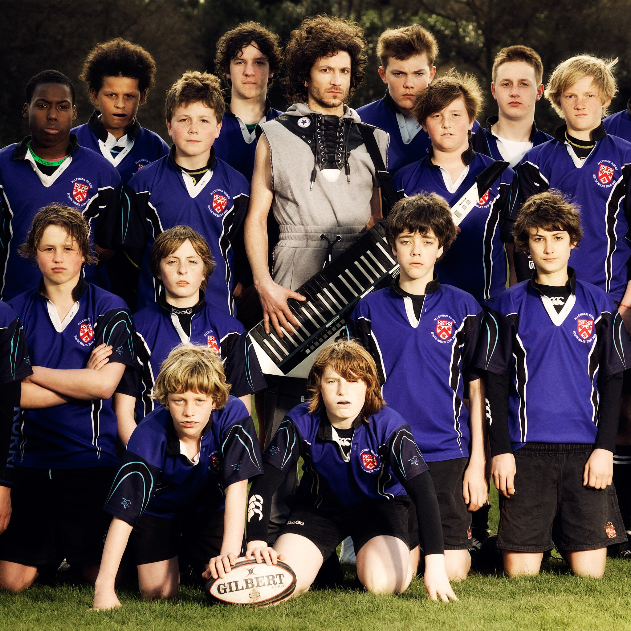 Amir Sufi with Youth Rugby Team – photographed in London for Mayolove