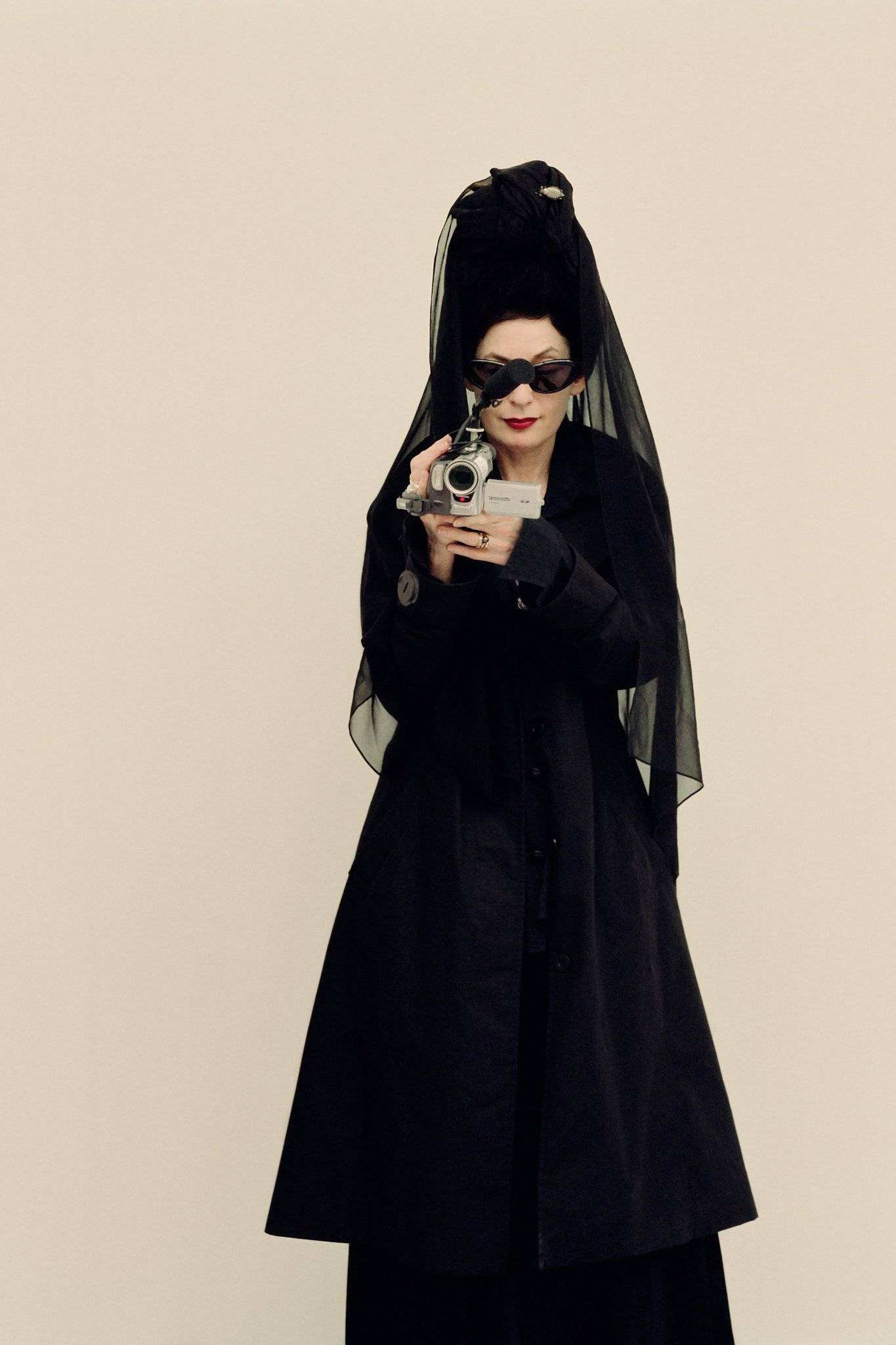 Diane Pernet, fashion blogger – photographed for Style&theFamilyTunes in Paris
