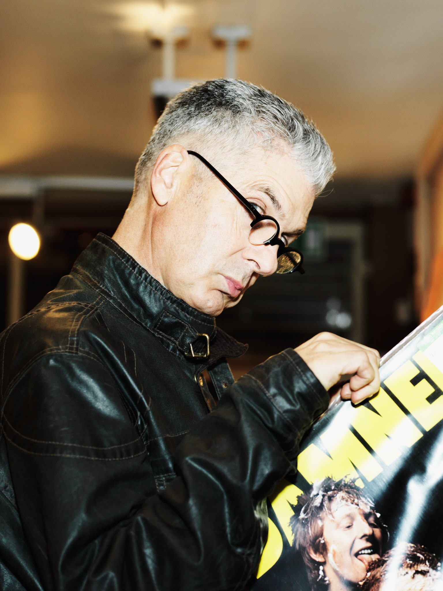 Jon Savage, writer, broadcaster and journalist – photographed in London for Spex