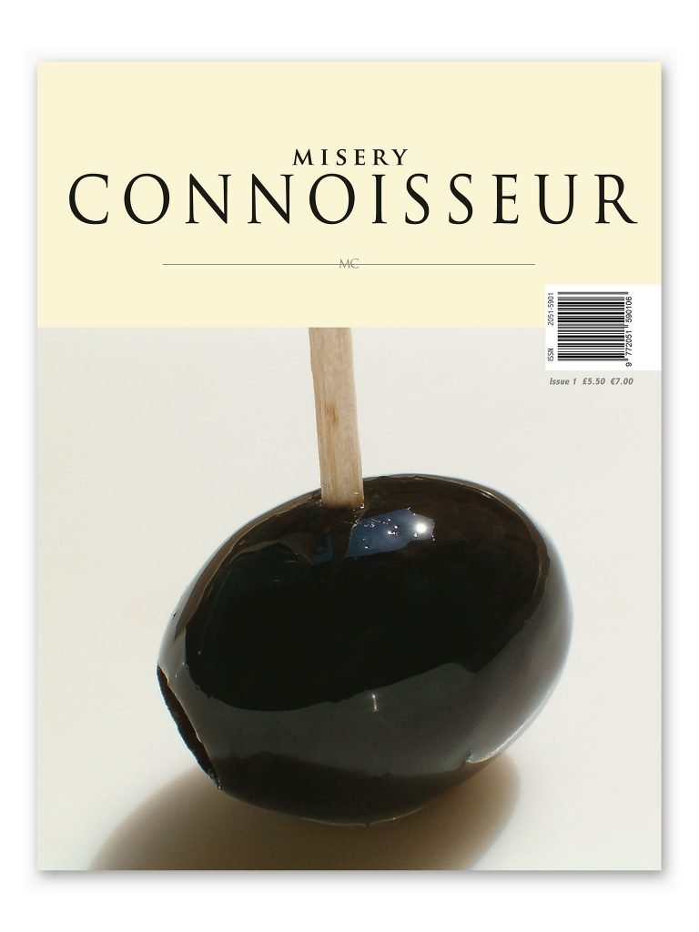 Misery Connoisseur, Issue 1. Cover