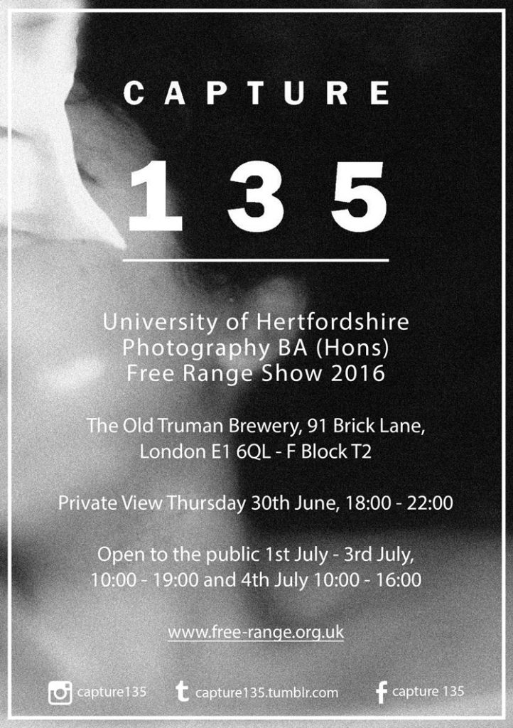 University of Hertfordshire, BA (hons) Photography – Degree Show 2016